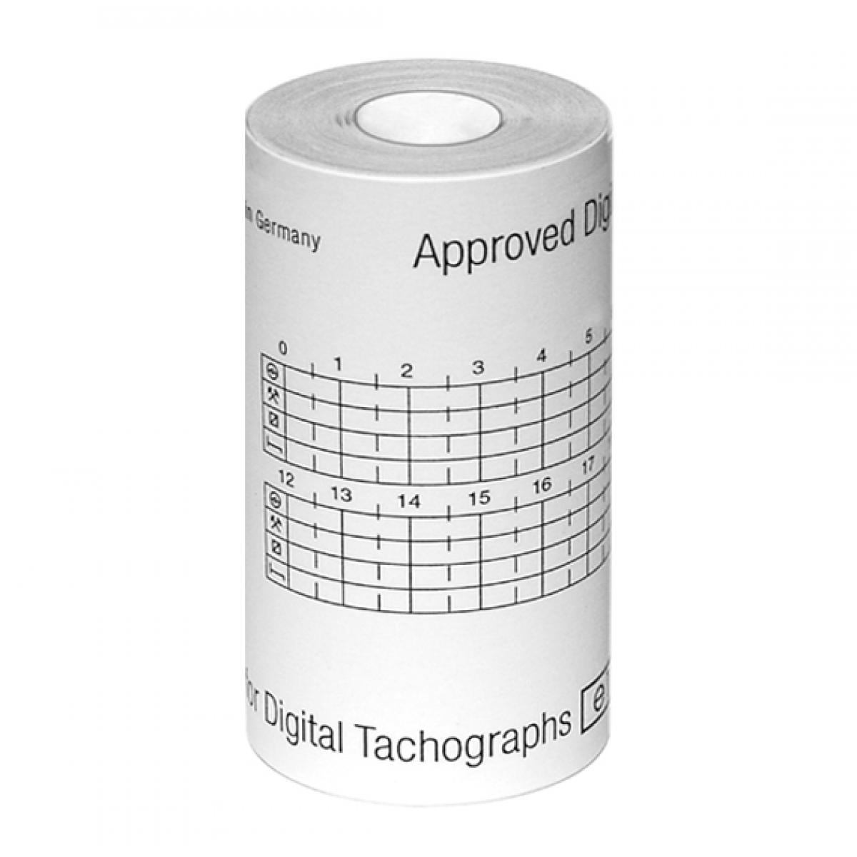 Thermopapier für digitale Fahrtschreiber (3 Rollen)